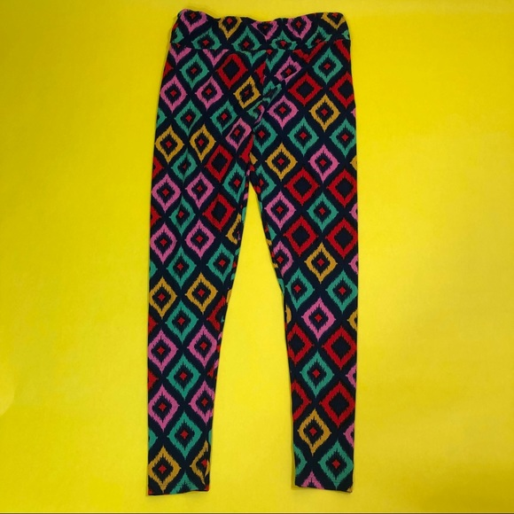 LuLaRoe Pants - Lularoe Tall & Curvy Geo Diamond Print Leggings